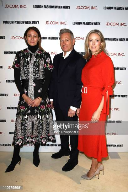 Caroline Rush, Chief Executive of the British Fashion Council, Harlan Bratcher, Global business development head JD Fashion and Stephanie Phair...