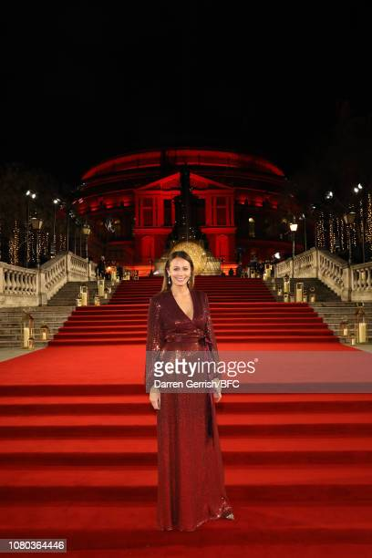 Caroline Rush during The Fashion Awards 2018 In Partnership With Swarovski at Royal Albert Hall on December 10 2018 in London England
