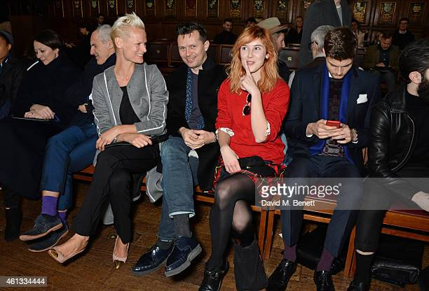 Caroline Rush Simon Ward Anna Freemantle Robert Montgomery Paula Goldstein Jim Chapman and Chris John Millington attend the Pringe Of Scotland...