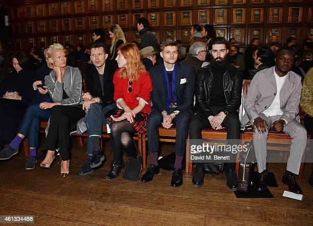 Caroline Rush Simon Ward Anna Freemantle Robert Montgomery Paula Goldstein Jim Chapman Chris John Millington and Arnold Oceng attend the Pringe Of...