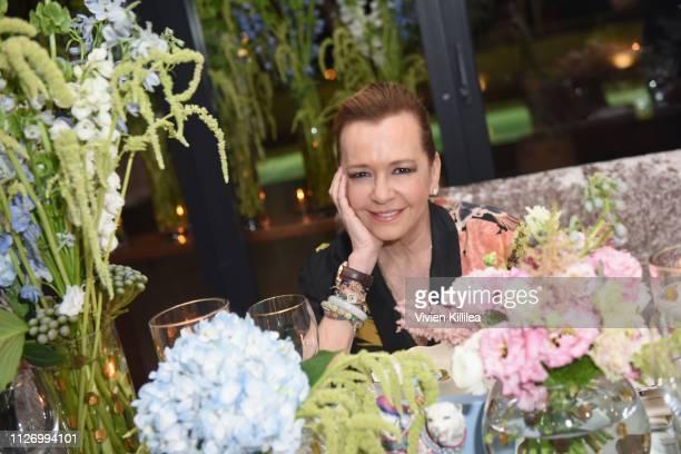 Caroline Scheufele attends MAISONDEMODECOM Sustainable Style Gala at Sunset Tower on February 23 2019 in Los Angeles California