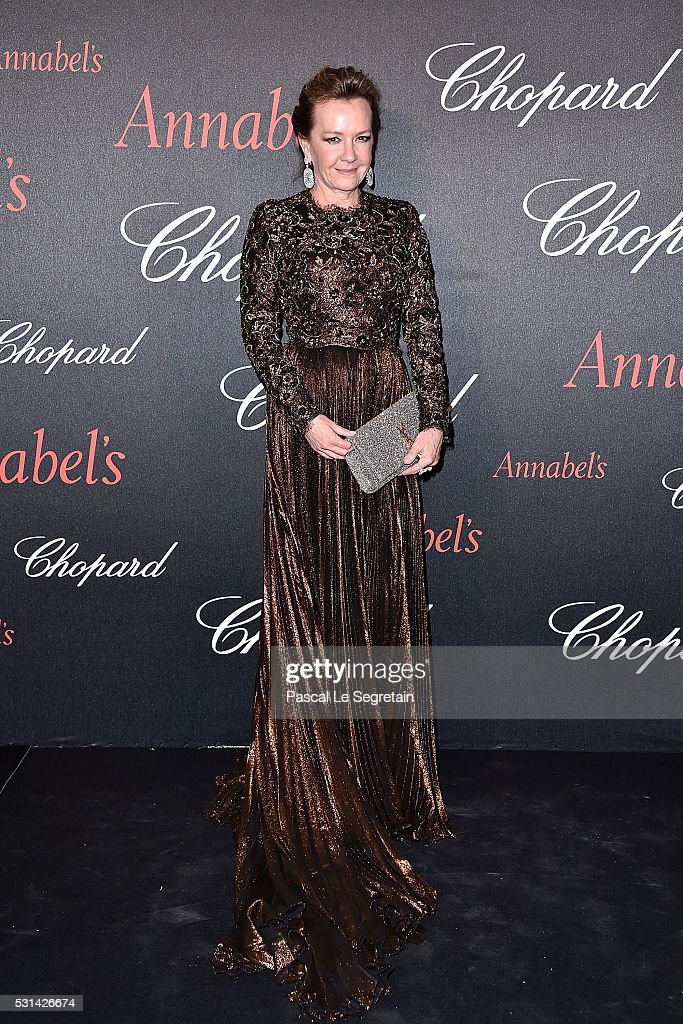 Caroline Scheufele attends the Chopard Gent's Party at Annabel's in Cannes during the 69th Cannes Film Festival on May 14, 2016 in Cannes, France.
