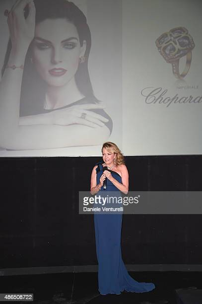 Caroline Scheufele attends the Chopard Imperiale Private Dinner during the 72nd Venice Film Festival at on September 4 2015 in Venice Italy