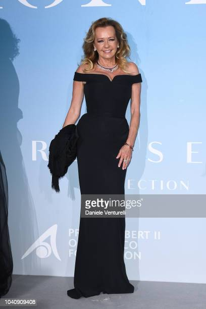 Caroline Scheufele attends the Gala for the Global Ocean hosted by HSH Prince Albert II of Monaco at Opera of MonteCarlo on September 26 2018 in...