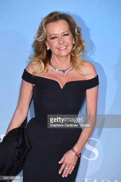 Caroline Scheufele attends the MonteCarlo Gala for the Global Ocean 2018 on September 26 2018 in MonteCarlo Monaco