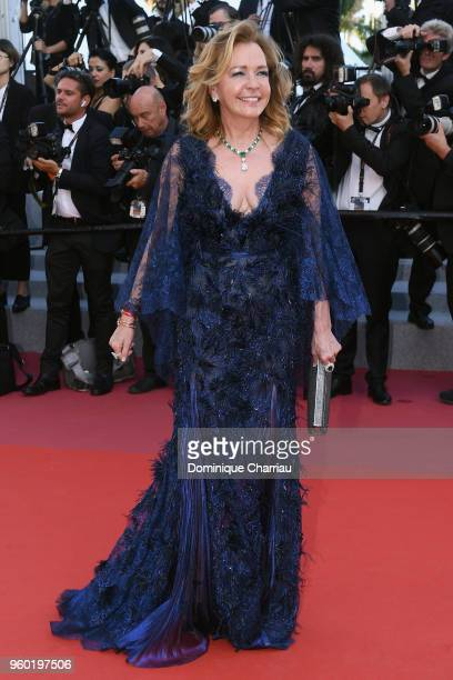 Caroline Scheufele attends the screening of Closing Ceremony 'The Man Who Killed Don Quixote' during the 71st annual Cannes Film Festival at Palais...