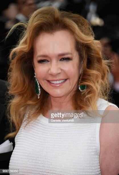 Caroline Scheufele attends the screening of Everybody Knows and the opening gala during the 71st annual Cannes Film Festival at Palais des Festivals...
