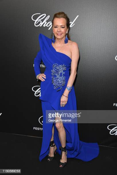 Caroline Scheufele attends the The Chopard Trophy event during the 72nd annual Cannes Film Festival on May 20 2019 in Cannes France
