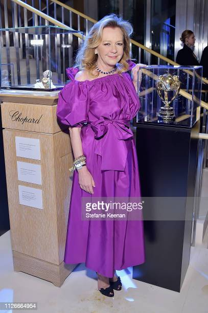 Caroline Scheufele attends the UCLA IoES honors Barbra Streisand and Gisele Bundchen at the 2019 Hollywood for Science Gala on February 21 2019 in...