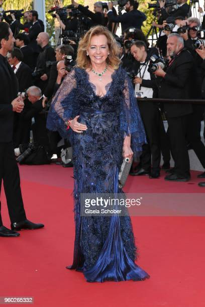Caroline Scheufele Chopard attends the screening of Closing Ceremony 'The Man Who Killed Don Quixote' during the 71st annual Cannes Film Festival at...