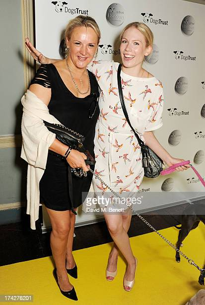 Caroline Shapiro and Tuuli Shipster attend the Dogs Trust Honours held at Home House on July 23 2013 in London England