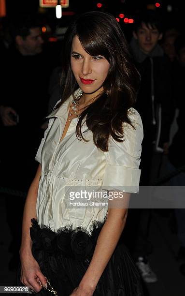 Caroline Sieber attends Finch Partners annual preBAFTA party at Annabels on February 20 2010 in London England