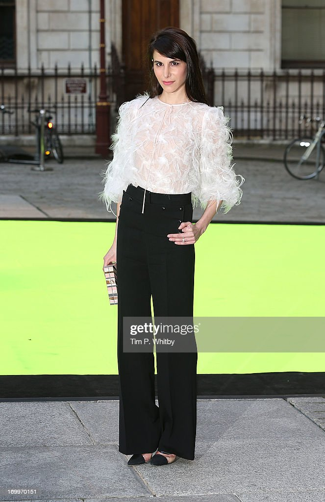 Caroline Sieber attends the preview party for The Royal Academy Of Arts Summer Exhibition 2013 at Royal Academy of Arts on June 5, 2013 in London, England.