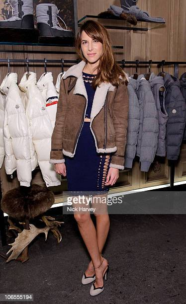 Caroline Sieber attends the UK launch of Moncler at Moncler Store on November 4 2010 in London England