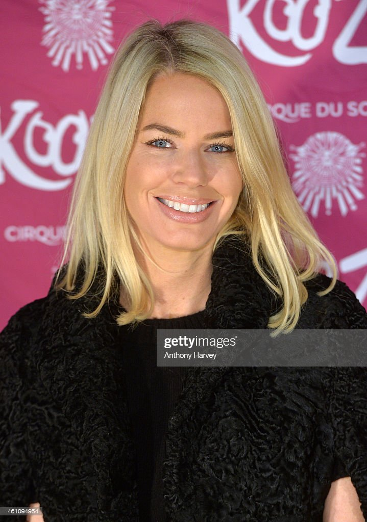 Caroline Stanbury attends the VIP performance of 'Kooza' by Cirque Du Soleil at Royal Albert Hall on January 6, 2015 in London, England.