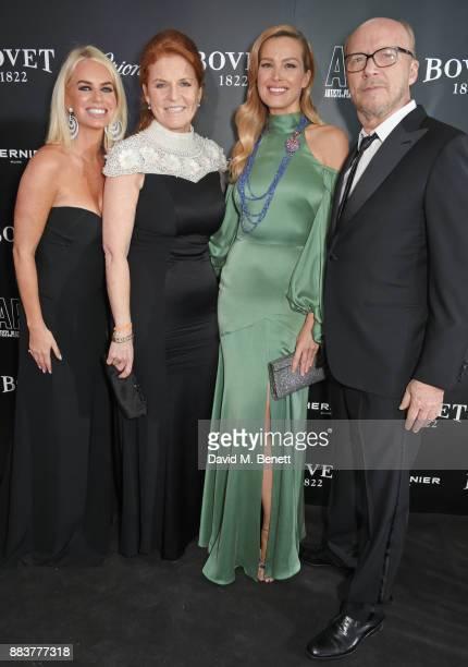 Caroline Stanbury Sarah Ferguson Duchess of York Petra Nemcova and Paul Haggis attend the BOVET 1822 Brilliant is Beautiful Gala benefitting Artists...