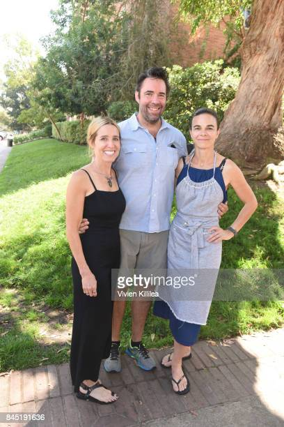 Caroline Styne David Lentz and Suzanne Goin attend the 8th Annual LA Loves Alex's Lemonade at UCLA Royce Quad on September 9 2017 in Los Angeles...