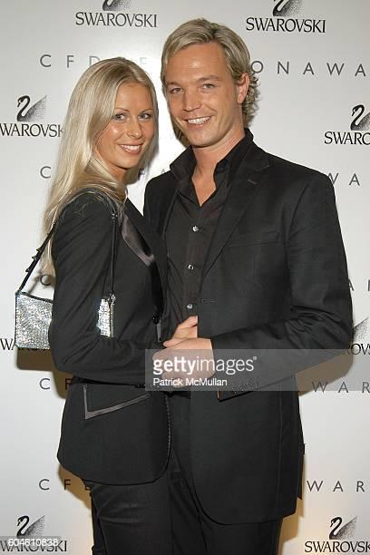 Caroline Swarovski and Markus LangesSwarovski attend SWAROVSKI Private Dinner to Honor the 2006 CFDA Nominees at Top of the Rock on June 4 2006 in...
