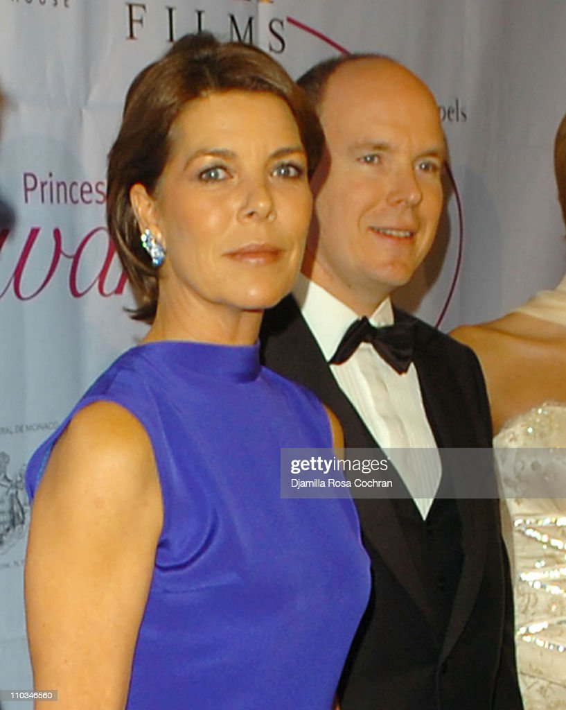 Caroline, The Princess of Hanover and Prince Albert of Monaco attend the 25th Anniversary Princess Grace Awards Gala at Sotheby's on October 25th, 2007 in New York City, New York.