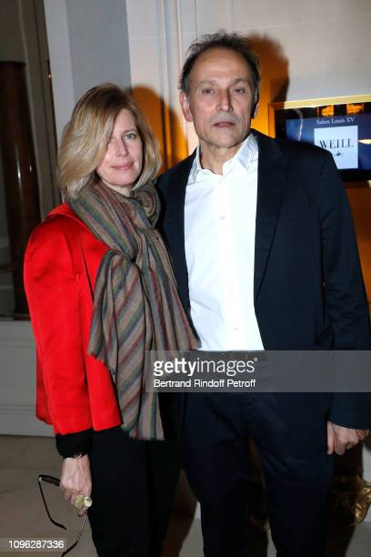 Caroline Thompson and JeanPierre Weill attend the Weill Menswear Fall/Winter 20192020 show as part of Paris Fashion Week on January 18 2019 in Paris...