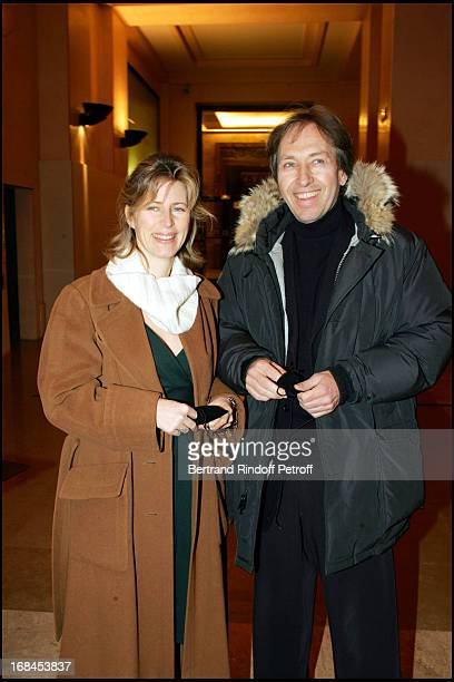 Caroline Thompson and Pascal Bruckner at 100th Episode Of 'Campus' Of Guillaume Durant At Le Cafe De L'Homme Restaurant At The Trocadero