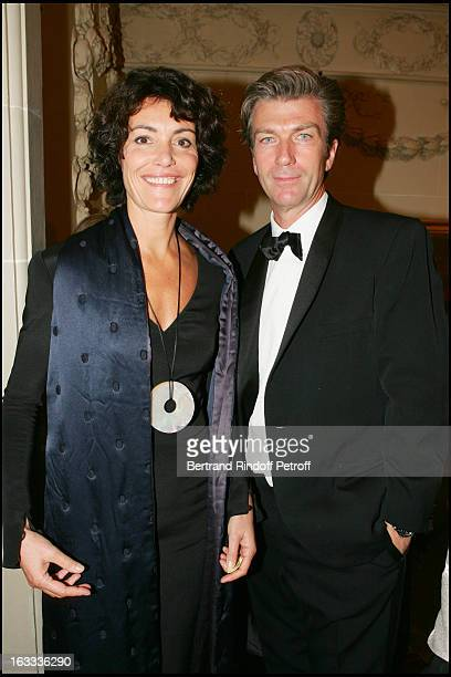 Caroline Tresca and Philippe Caroit at The Bal Des Etoiles Held In Aid Of Douleurs Sans Frontieres At Pre Catelan In Paris.