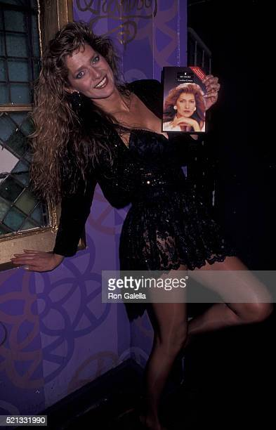 Caroline Tula Cossey attends Caroline Tula Cossey My Story Book Party on February 20 1992 at Limelight in New York City