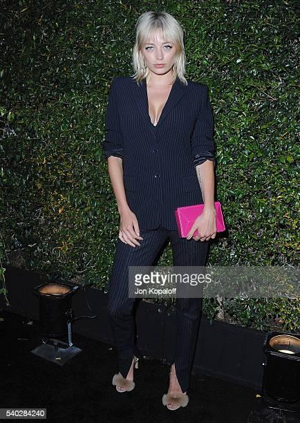 Caroline Vreeland arrives at Max Mara Celebrates Natalie DormerThe 2016 Women In Film Max Mara Face Of The Future at Chateau Marmont on June 14 2016...