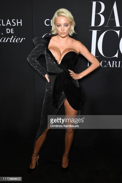 Caroline Vreeland attends as Harper's BAZAAR celebrates ICONS By Carine Roitfeld at The Plaza Hotel presented by Cartier Arrivals on September 06...