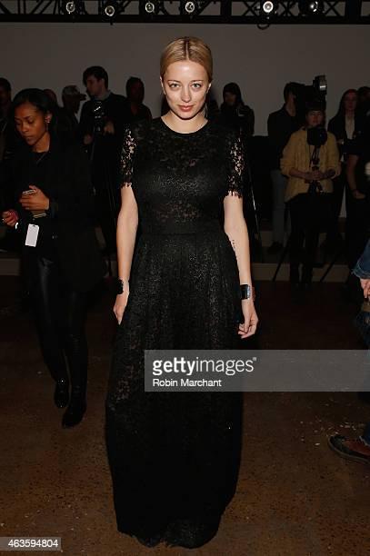 Caroline Vreeland attends Houghton at Milk Studios on February 16 2015 in New York City