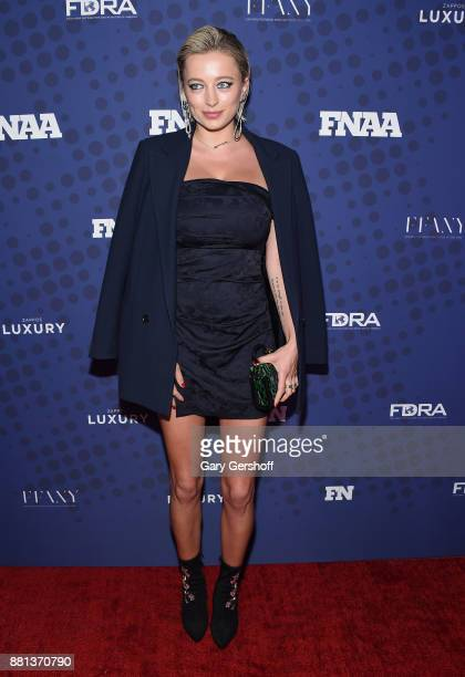 Caroline Vreeland attends the 31st FN Achievement Awards at IAC Headquarters on November 28 2017 in New York City