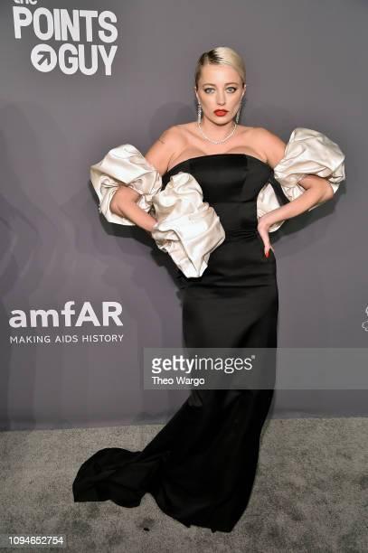 Caroline Vreeland attends the amfAR New York Gala 2019 at Cipriani Wall Street on February 6 2019 in New York City