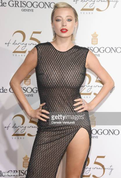 Caroline Vreeland attends the De Grisogono Party during the 71st annual Cannes Film Festival at on May 15 2018 in Antibes France