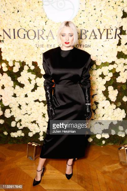 Caroline Vreeland attends the Nigora Tabayer Fine Jewelry Launch Party during Paris Fashion Week Womenswear Fall/Winter 2019/2020 at Hotel de Crillon...