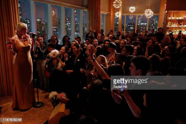 Caroline Vreeland performs at Top of The Standard on November 14 2019 in New York City