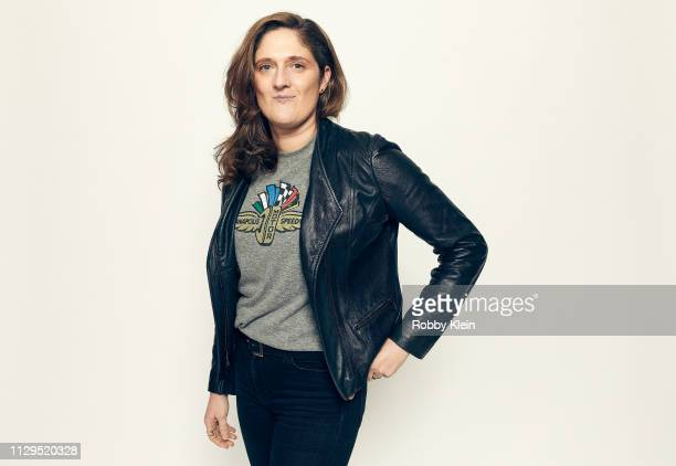 Caroline Waterlow of the film 'Qualified' poses for a portrait at the 2019 SXSW Film Festival Portrait Studio on March 9 2019 in Austin Texas