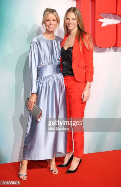 Caroline Weinberg attends the European premiere of 'Tomb Raider' at Vue West End on March 6 2018 in London England