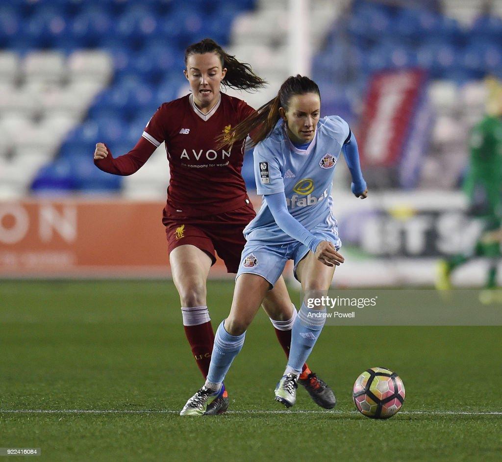 Liverpool Ladies v Sunderland Ladies: FA WSL 1 : Nachrichtenfoto