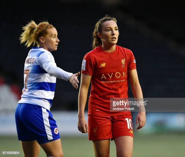 Caroline Weir of Liverpool Ladies during a Women's Super League match between Liverpool Ladies and Reading FC Women at Select Security Stadium on...