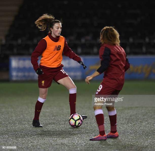 Caroline Weir of Liverpool Ladies during the FA Women's Super League match between Liverpool Ladies and Yeovil Town Ladies at Select Security Stadium...