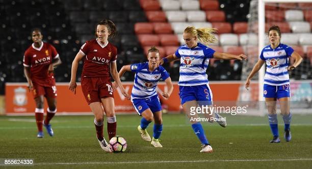 Caroline Weir of Liverpool Ladies during the Women's Super League match between Liverpool Ladies and Reading FC Women at Select Security Stadium on...