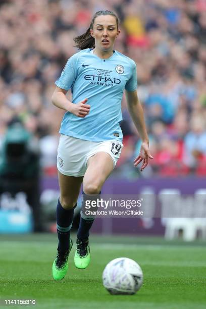 Caroline Weir of Man City during the Women's FA Cup Final match between Manchester City Women and West Ham United Ladies at Wembley Stadium on May 4...