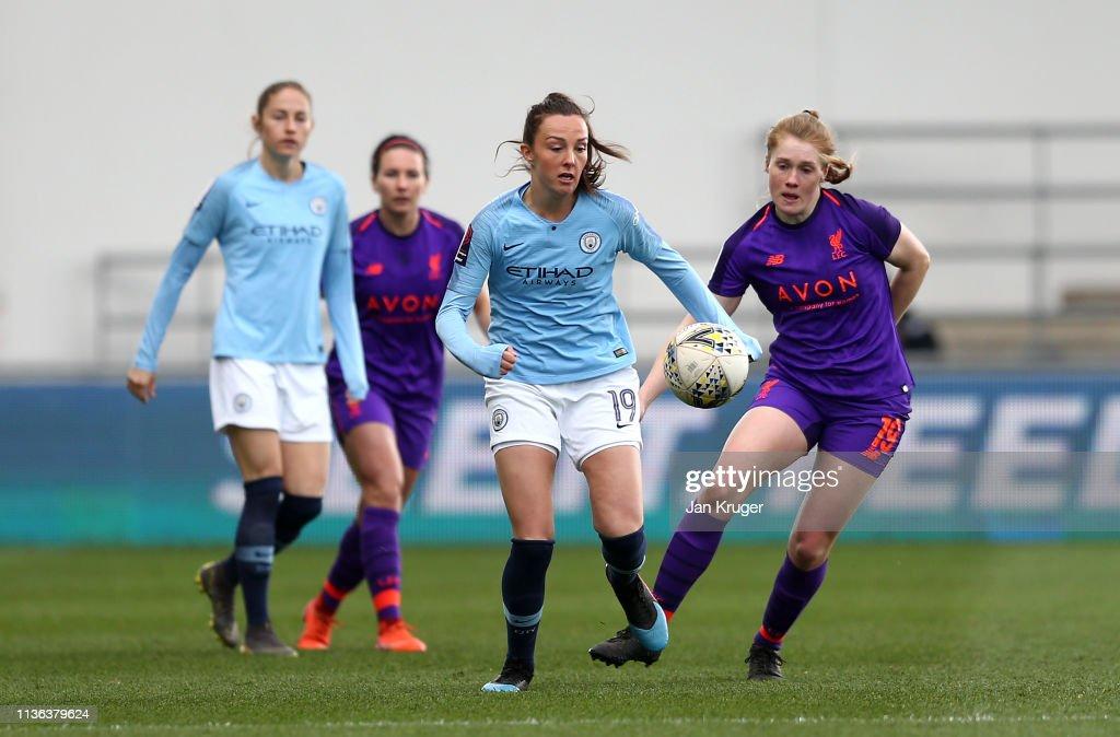 GBR: Manchester City Women v Liverpool Women - SSE Women's FA Cup Quarter Final