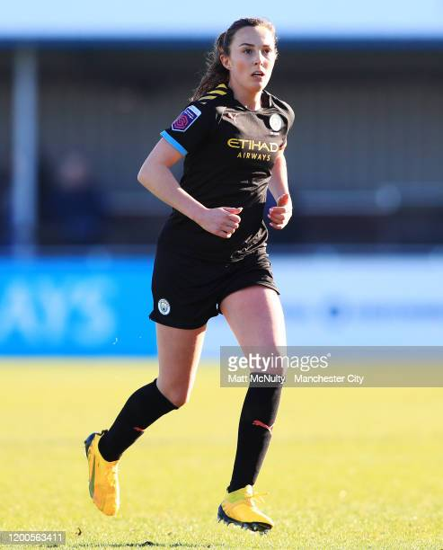 Caroline Weir of Manchester City in action during the Barclays FA Women's Super League match between Birmingham City and Manchester City at Damson...