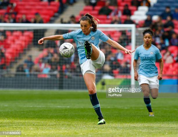 Caroline Weir of Manchester City WFC during The SSE Women's FA Cup Final match between Manchester City Women and West Ham United at Wembley stadium...