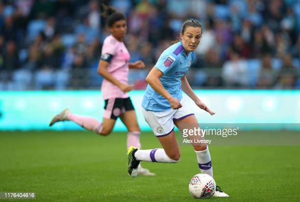 Caroline Weir of Manchester City Women during The FA Continental League Cup between Manchester City Women and Leicester City at The Academy Stadium...