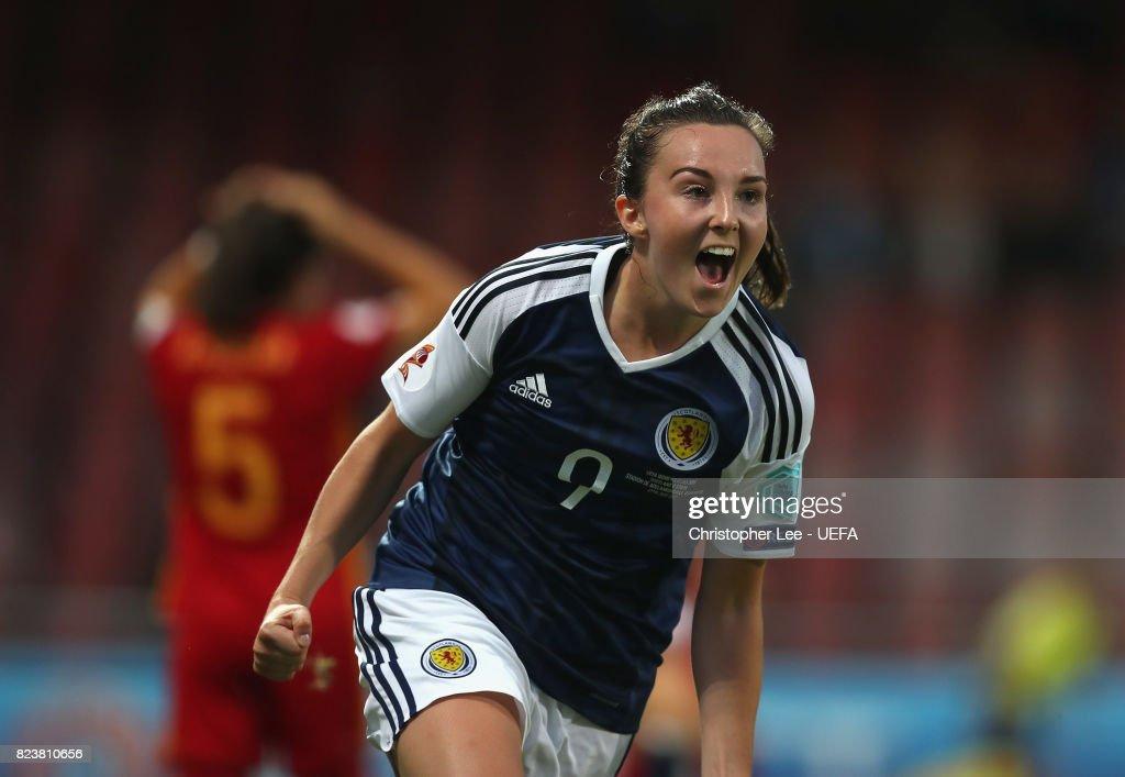 Scotland v Spain - UEFA Women's Euro 2017: Group D : Photo d'actualité