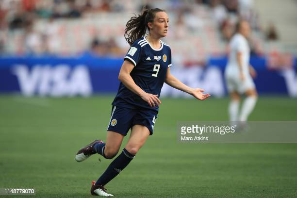 Caroline Weir of Scotland during the 2019 FIFA Women's World Cup France group D match between England and Scotland at Stade de Nice on June 9 2019 in...