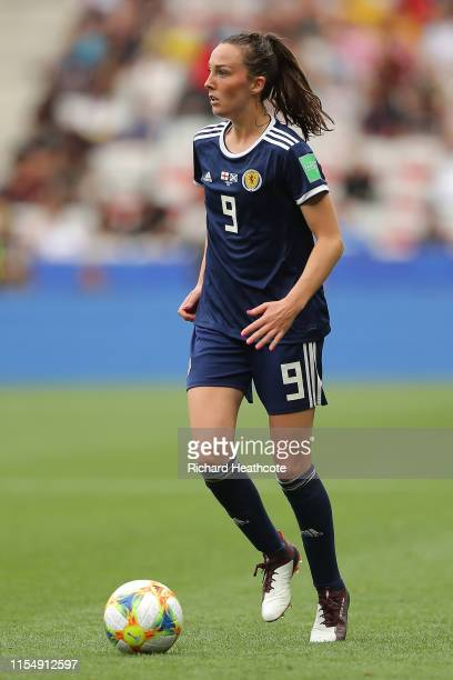 Caroline Weir of Scotland during the 2019 FIFA Women's World Cup France group D match between England and Scotland at Stade de Nice on June 09 2019...