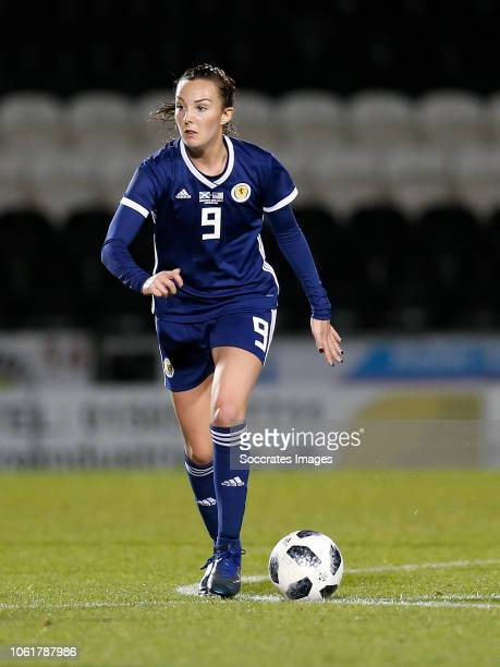 Caroline Weir of Scotland Women during the International Friendly Women match between Scotland v USA at the The Simply Digital Arena on November 13...